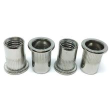 M5 Zinc Plated Blind Rivet Nut Left Hand Thread Insert Riveted Nuts