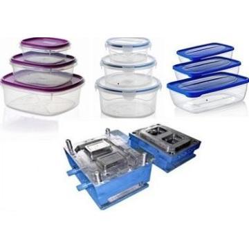 Spritzgussform für dünnwandige Lebensmittelbehälter aus Kunststoff