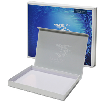 Custom Luxury Book Shape Presentförpackning Paper Box
