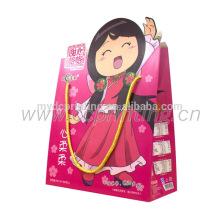 China kundenspezifische Kindergeburtstags-Partygeschenk-Papiertüten mit Griffen