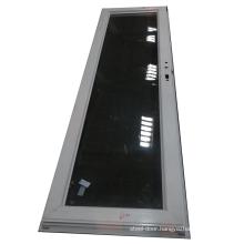 Cheap price color customized aluminum bathroom glass door