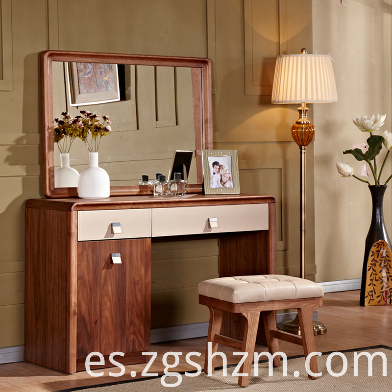 Modern Bamboo Dressing Table