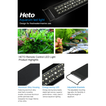 Heto Aquarium Super Slim LED-Licht 36 Zoll