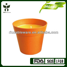 eco friendly bamboo fiber candle holder