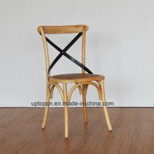 (СП-EC140) французский ресторан стулья х крест деревянный стул кафе для продажи