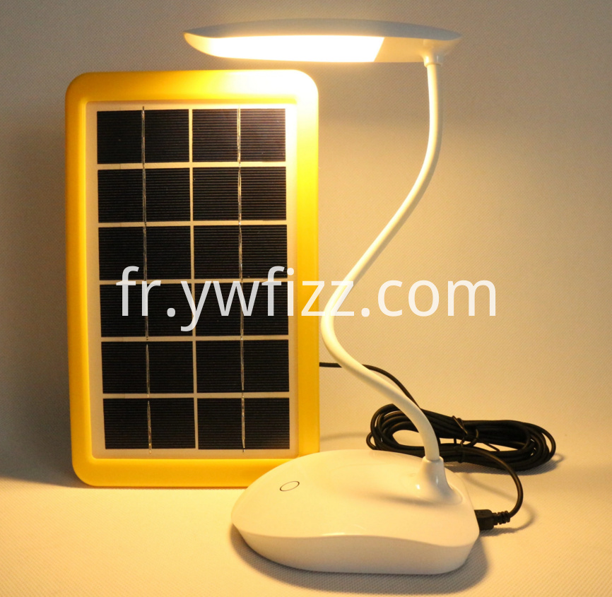 Touch dimming solar eye lamp