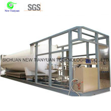 Self-Contained LNG Automobile Mobile Filling Station