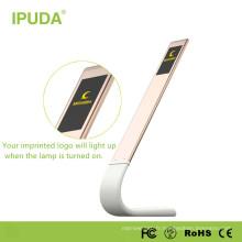 Lampe de nuit graduée rechargeable brevetée aux États-Unis Chine avec cou flexible