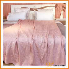 Soft Fabric New Design Yarn Dyed Coral Blanket