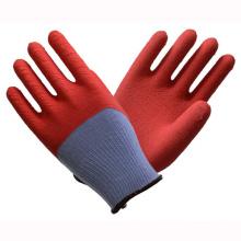 (LG-013) 13t Gants de travail de sécurité protectrice du travail en latex