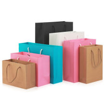 Eco-friendly competitive price recyclable CMYK printing stock wedding paper bag