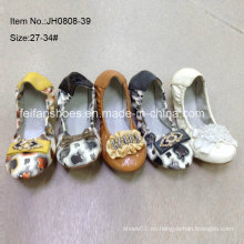 Los últimos zapatos de la muchacha zapatos de ballet de los cabritos zapatos de la danza (jh0808 -39)