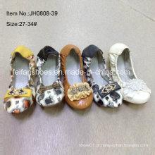 Mais recente menina sapatos crianças sapatos de balé sapatos de dança (jh0808 -39)