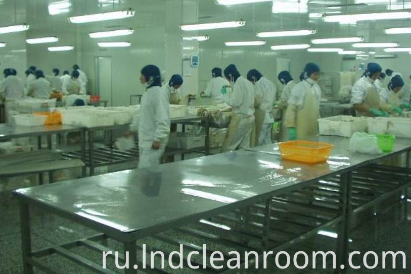 Ethiopian food cleaning room