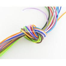 Colorido cordón de silicona de 2 mm