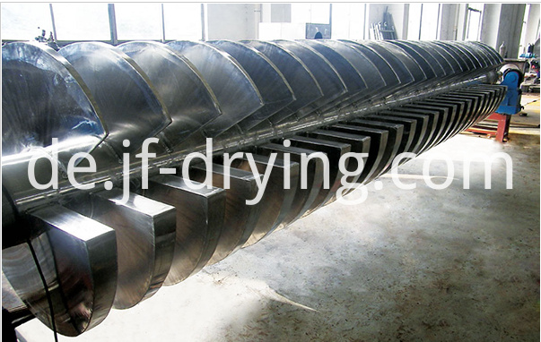 2018 hollow paddle dryer machine (2)