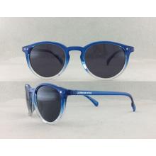 Colorido hecho a mano gafas de sol P02002 de la manera del acetato