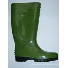 Sicherheit Stahlkappe Cap Gummistiefel Regen Arbeitsschuhe, Sicherheitsschuhe Arbeit CE-Norm