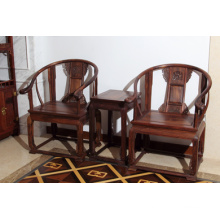 3 Sets Siam Rosewood Palace Chair with Nature Grain.