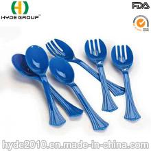 Cuchara y tenedor plásticos disponibles al por mayor de China