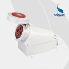 Saip / Saipwell Высококачественный 4-контактный 220В промышленный разъем с сертификацией CE (IP44 IP67)