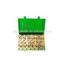 New Style Urea/Melamine domino In color plastic box