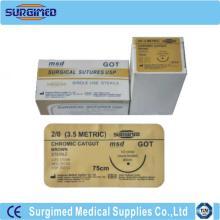 Coated Polyglycolic Acid Sutures With Needle