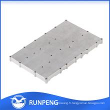 Alliage mécanique haute précision en aluminium