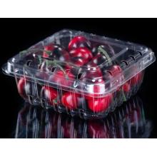 Пластиковая упаковочная коробка-раскладушка для вишни
