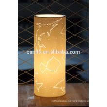 Sea Animals Carvings Surface European Style - Lámpara de mesa