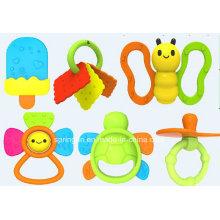 Wunderschöne billige Plastik Baby Hand Rasseln Spielzeug