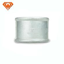 accouplement à douille en fonte malléable galvanisé / noir