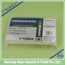 100% algodão natural cor queijo pano