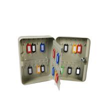 China Factory High Quality Steel Key box wall mounted  key lock box Key Cabinet for 48 hooks