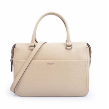 Beige Large Shopping Bag Oversized Computer Bag