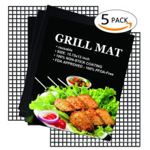 High temperature resistant ptfe non stick mesh bbq baking mat for grill