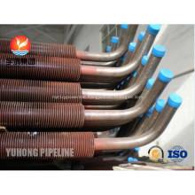 CuNi 90/10 Shape Type Heat Exchanger Fin Tube