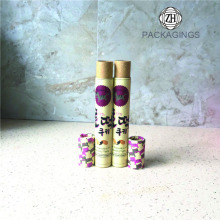 Custom small paper cardboard tubes packaging