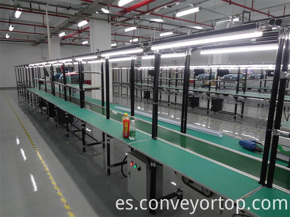 Lean Pipe Belt Conveyors