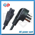 Factory Wholesale AU plug male end type power cord