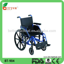 A cadeira de rodas de alumínio mais vendida