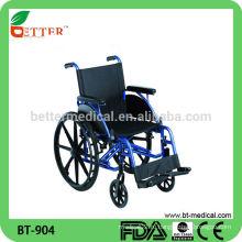Лучшая продаваемая алюминиевая инвалидная коляска