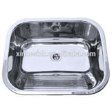 Australia style stainless steel bathroom sink for laundry