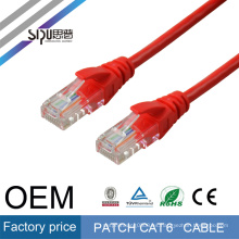 SIPU Cat6 ftp 24awg patch cord stranded copper cables with 30inch gold plating connectors