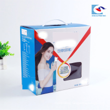 Custom excellent quality food corrugated packaging box with handle