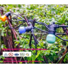 SL-74 E27 base suspendue café socket chaîne lumières extérieures jardin ampoule lumières chaîne