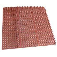 Interlocking Oil Resistant Rubber Flooring Mat