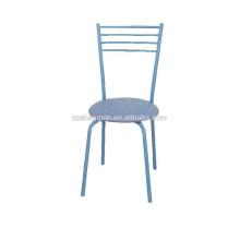 Chaise de salle à manger Blue Backrest pour hôtel