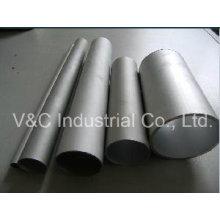 Rundes, rechteckiges, quadratisches und sechseckiges Aluminiumrohr