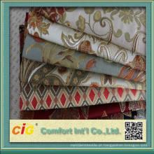 Hot Sale 100% poliéster tecido jacquard para sofá